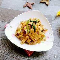 金针豆腐丝