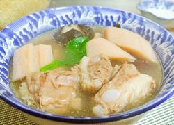 养生极品莲藕排骨汤