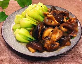 香菇扒油菜[图]