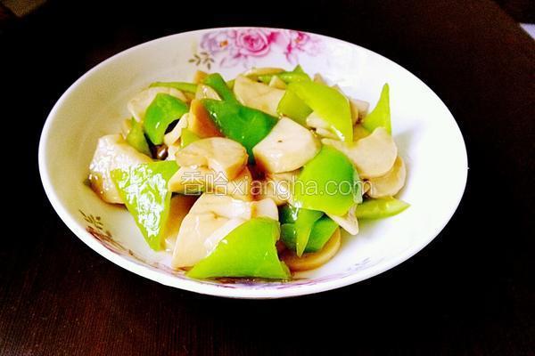 蚝油尖椒杏鲍菇