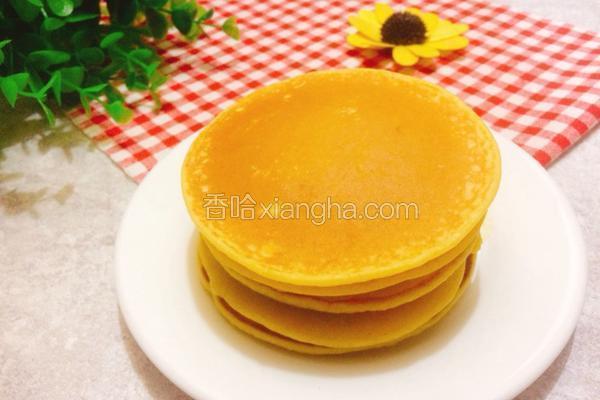 奶香玉米面松饼