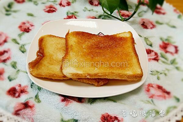 焦糖面包片