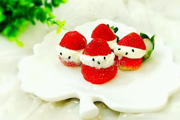 草莓圣诞老公公