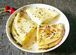 奶香苹果煎饼