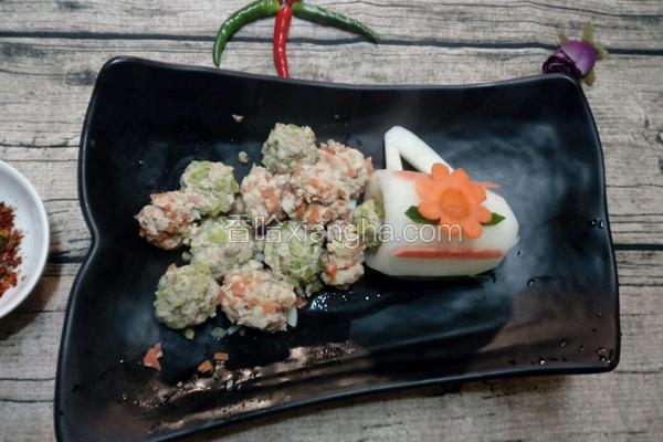 蔬菜肉丸子