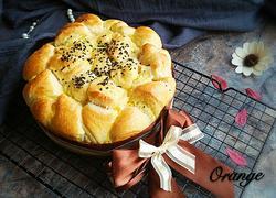 花形礼物面包