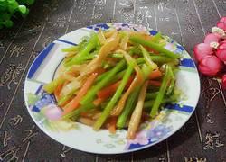 香芹拌黄花菜