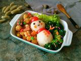 圣诞雪人饭团的做法[图]