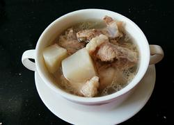 高压锅萝卜排骨汤