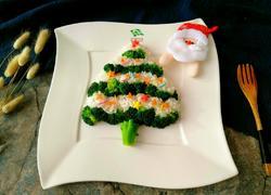 西兰花白米圣诞树
