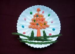 #圣诞节#水果圣诞树