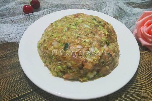 香菇白菜猪肉饺子馅