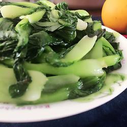 猪油炒青菜