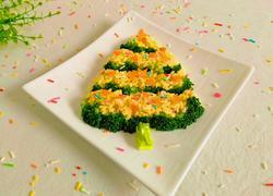 咖喱米圣诞树