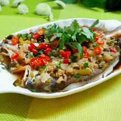 冬菜蒸黄鱼