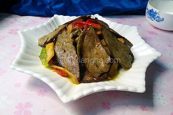 泡菜炒猪肝