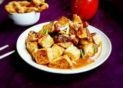 鱼块烧豆腐(麻辣版)