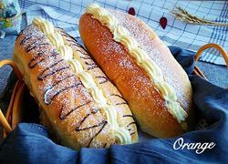 毛毛虫奶油面包