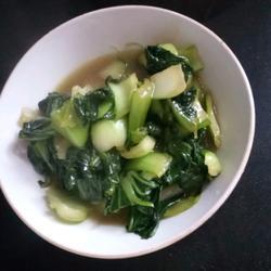 蚝油炒青菜