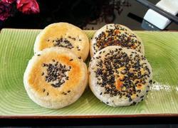糯米粉芝麻饼
