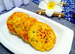 香煎胡萝卜豆腐肉饼