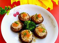 虾仁瘦肉酿香菇