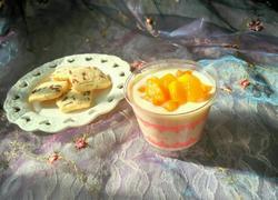 手工芒果酸奶杯