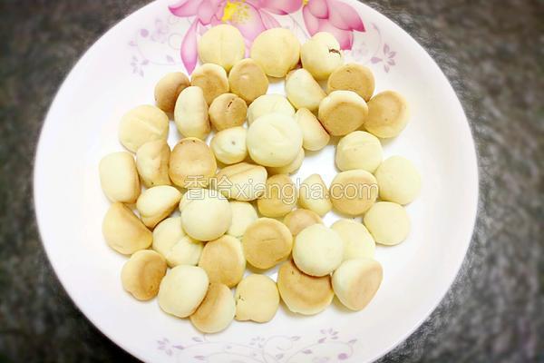 果仁小饼干