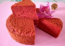 红丝绒8寸戚风蛋糕