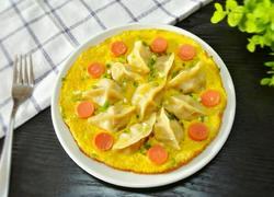 火腿肠抱蛋煎饺