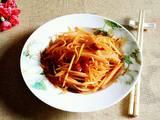 香辣胡萝卜丝的做法[图]