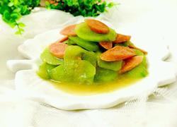 青瓜炒火腿肠