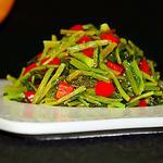 碎椒炝雪菜