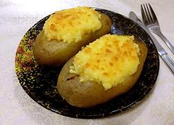 芝士培根烤土豆