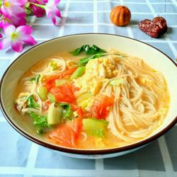 木须柿子汤面