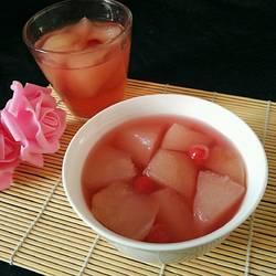 冰糖雪梨红樱桃