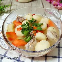 马蹄排骨汤