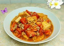 番茄肉末豆腐