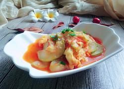 西红柿炒鸡蛋葫芦瓜