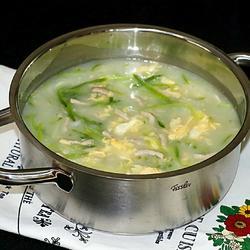青萝卜丝咸汤的做法[图]