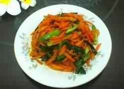 胡萝卜炒大蒜