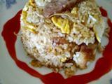 超级简单的腊肠鸡蛋炒饭的做法[图]
