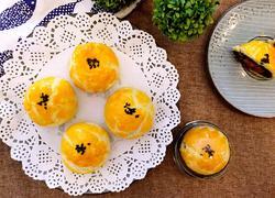 蛋黄酥(半猪油,半黄油版)