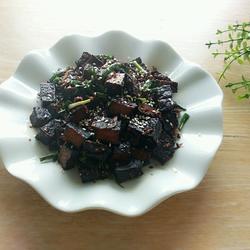 干煸卤豆腐