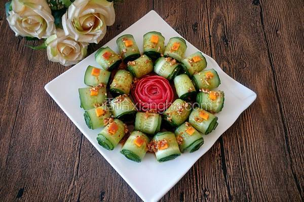 翡翠黄瓜卷