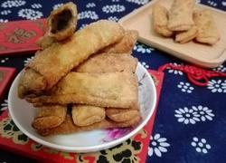 馄饨皮红豆沙春卷(年味)