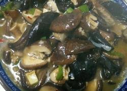 香菇炒木耳