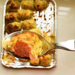 芝士土豆焗烤肠