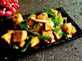 青蒜炒豆腐的做法[图]