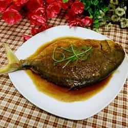 红烧平子鱼